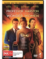 Professor Marston And The Wonder Women | DVD