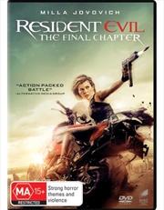 Resident Evil - The Final Chapter | DVD
