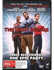 Night Before, The | DVD