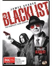 Blacklist - Season 3, The | DVD