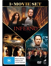 Da Vinci Code / Angels and Demons / Inferno | Triple Pack | DVD