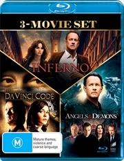 Da Vinci Code / Angels and Demons / Inferno | Triple Pack | Blu-ray