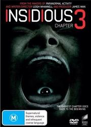 Insidious - Chapter 3   DVD