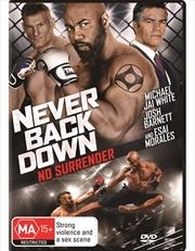 Never Back Down - No Surrender | DVD