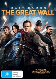 Great Wall, The   DVD