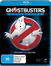 Ghostbusters / Ghostbusters II / Ghostbusters 2016 | Triple Pack | Blu-ray