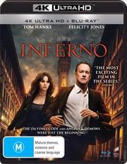 Inferno | Blu-ray + UHD | UHD
