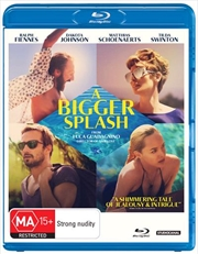 A Bigger Splash | Blu-ray