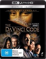 Da Vinci Code | Blu-ray + UHD | UHD