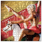 Pink Funhouse Cover 1000 Piece Puzzle | Merchandise
