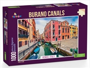 Burano Canals Venice Italy 1000 Piece Puzzle | Merchandise