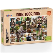 Dogs Dogs Dogs 1000 Piece Puzzle   Merchandise