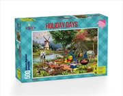 Holiday Days Camping 500 Piece Puzzle | Merchandise