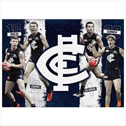 Carlton Blues 4 Player 1000 Piece Puzzle | Merchandise