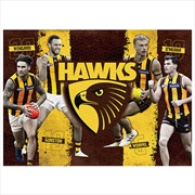 Hawthorn Hawks 4 Player 1000 Piece Puzzle | Merchandise