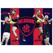 Melbourne Demons 4 Player 1000 Piece Puzzle | Merchandise