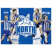 Nth Melbourne Kangaroos 4 Player 1000 Piece Puzzle | Merchandise