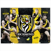 Richmond Tigers 4 Player 1000 Piece Puzzle | Merchandise