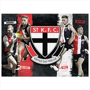 St Kilda Saints 4 Player 1000 Piece Puzzle | Merchandise