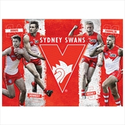 Sydney Swans 4 Player 1000 Piece Puzzle | Merchandise