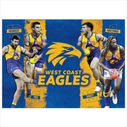 West Coast Eagles 4 Player 1000 Piece Puzzle | Merchandise