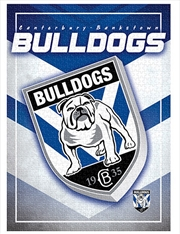 Team Logo Canterbury Bulldogs 1000 Piece Puzzle | Merchandise
