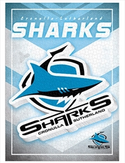 Team Logo Cronulla Sharks 1000 Piece Puzzle | Merchandise