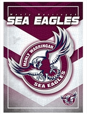 Team Logo Manly Sea Eagles 1000 Piece Puzzle | Merchandise