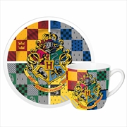 Harry Potter 4 House Mug And Saucer | Merchandise