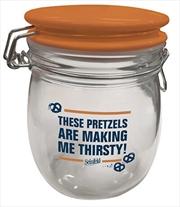 Pretzel Glass Canister - Seinfeld | Merchandise