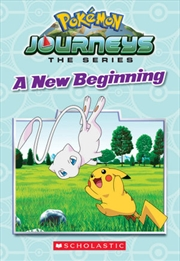 A New Beginning - Pokemon Journeys | Paperback Book