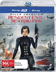 Resident Evil - Retribution | 3D + 2D Blu-ray | Blu-ray 3D