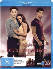 Twilight Saga - Breaking Dawn - Part 1, The | Blu-ray