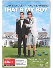 That's My Boy   DVD