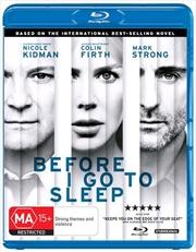 Before I Go To Sleep | Blu-ray