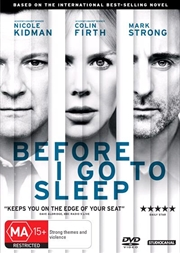 Before I Go To Sleep | DVD