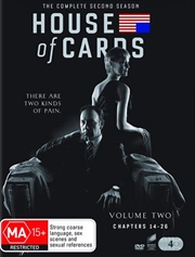 House Of Cards - Season 2 | DVD