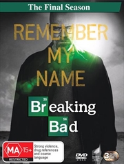 Breaking Bad - Season 6 | Final Season | DVD