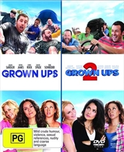 Grown Ups / Grown Ups 2 | Double Pack | DVD
