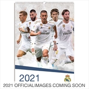 Real Madrid (EPL) 2021 A3 Calendar | Merchandise