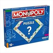 Australian Community Relief - 1000 Piece Jigsaw Puzzle | Merchandise