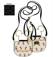 Loungefly - Mickey Mouse - Hardware Crossbody Bag | Apparel