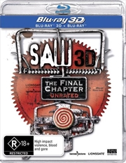 Saw - The Final Chapter | 3D Blu-ray | Blu-ray 3D
