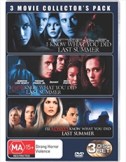 I Know What You Did Last Summer | Boxset | DVD