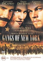 Gangs Of New York | DVD