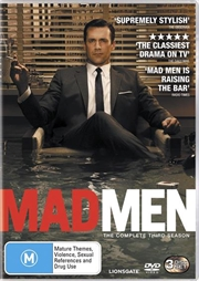 Mad Men- The Complete Third Season | DVD