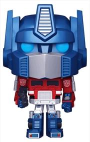 Transformers - Optimus Prime Metallic US Exclusive Pop! Vinyl [RS] | Pop Vinyl