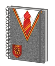 Harry Potter - Gryffindor Uniform Notebook | Merchandise