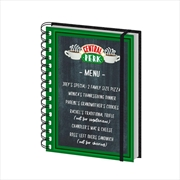 Friends Central Perk Menu Notebook | Merchandise