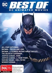 Best Of DC Animated Movies | 8-Film Collection | DVD